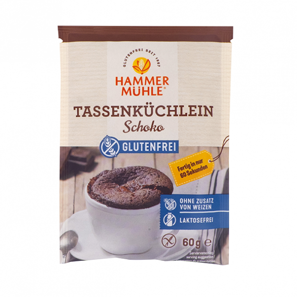 Tassenküchlein Schoko
