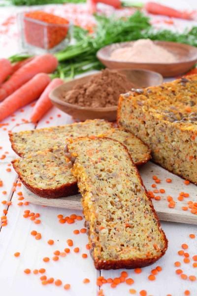 Karottenbrot-mit-rotem-Linsenmehl