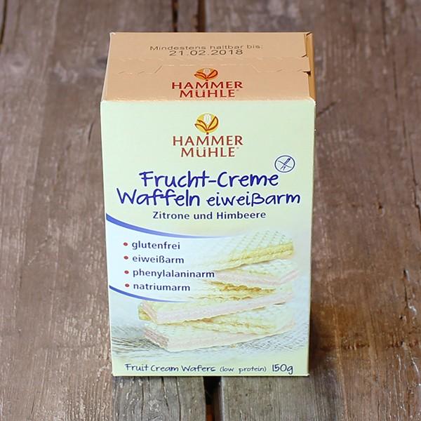 Fruchtcreme-Waffeln, 2 x 75 g