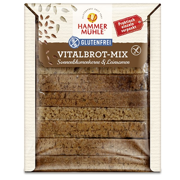 Vitalbrot-Mix, haltbar
