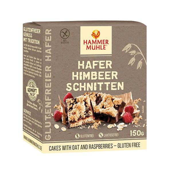 HAFER Himbeer-Schnitten