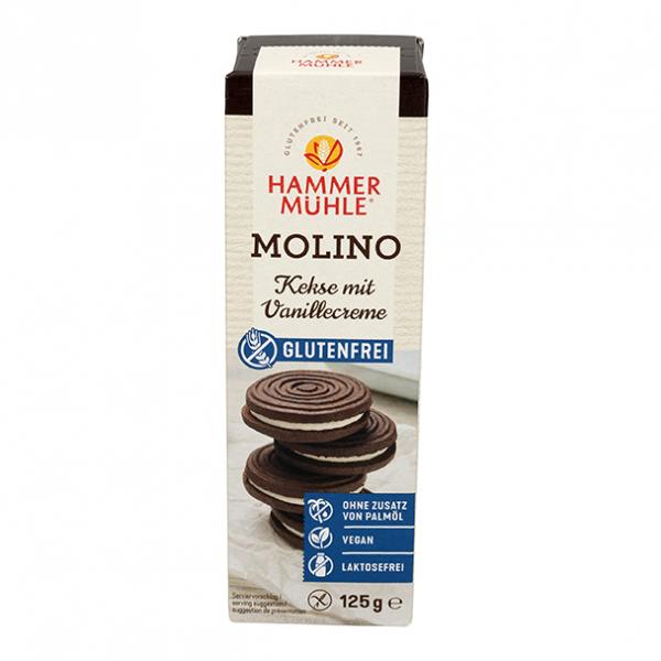 Molino Kakaokekse mit Vanillecreme