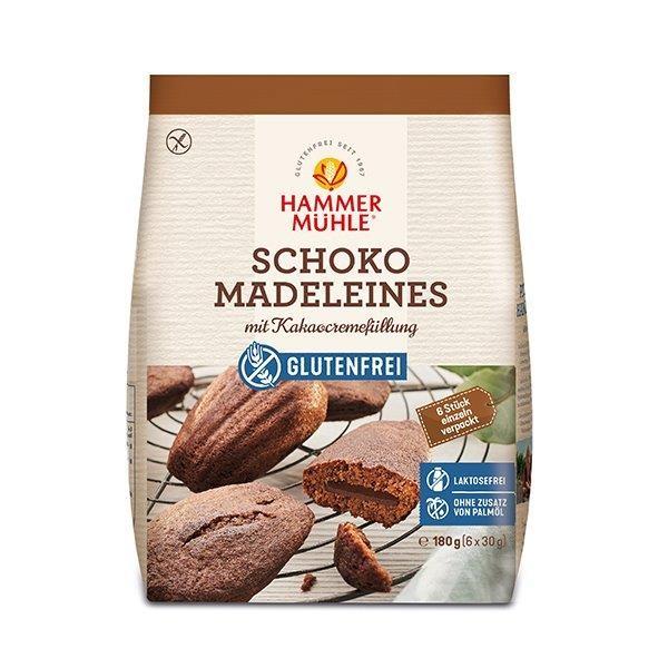 Schoko Madeleines