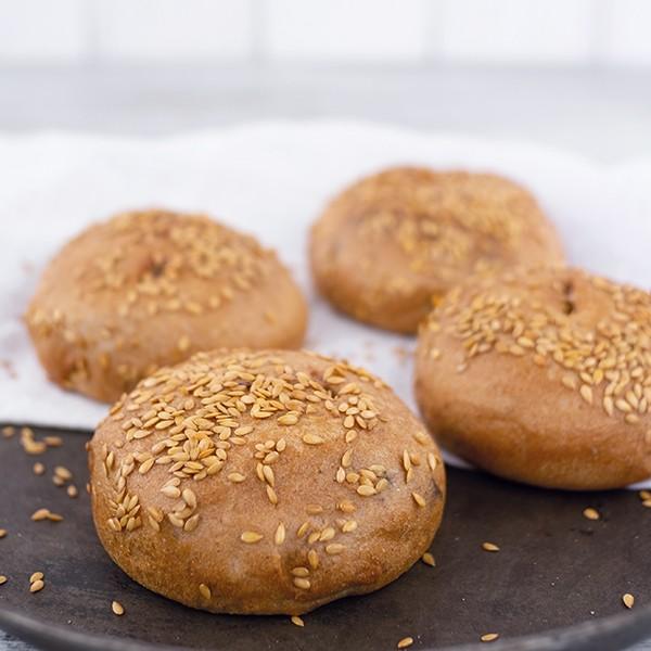 Hamburger-Brötchen, 4 Stück