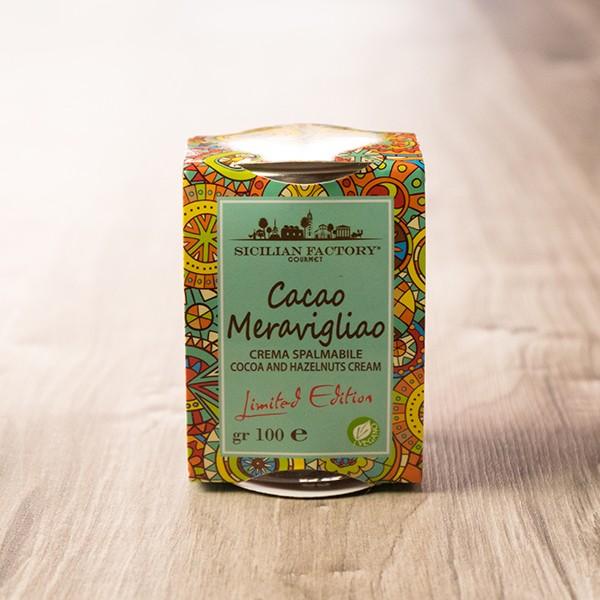 Cacao Meravigliao - Kakao- und Haselnusscreme