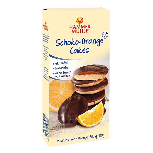 Schoko-Orange Cakes