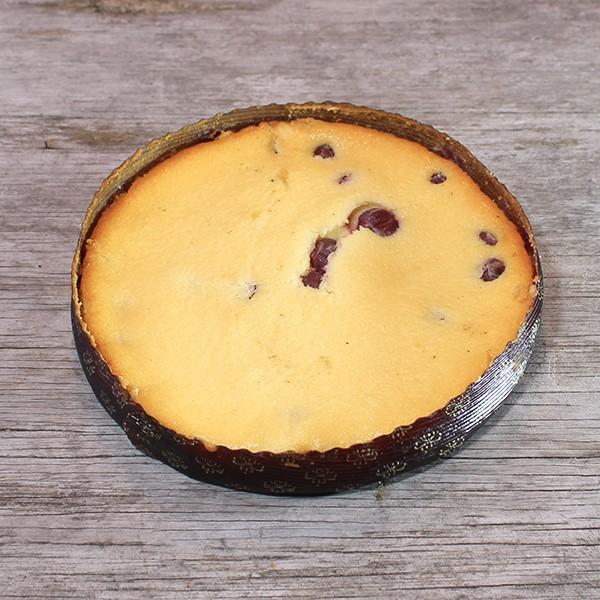 Käse-Kirschkuchen, frisch