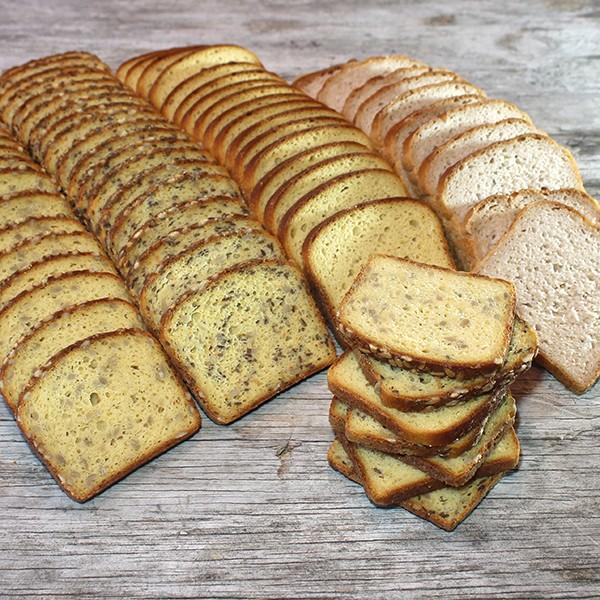 Broteinfrierpaket frisch