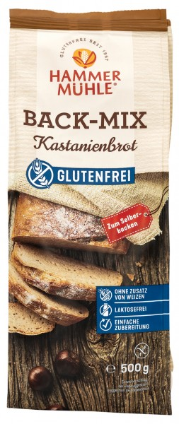 Back-Mix Kastanienbrot
