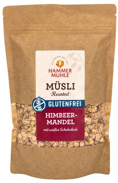 Roasted Müsli Himbeer-Mandel