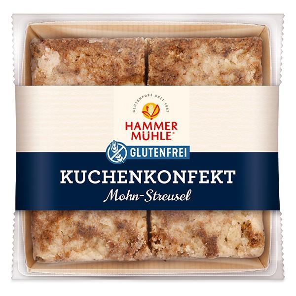 Kuchenkonfekt Mohn-Streusel, MHD 17.01.2021