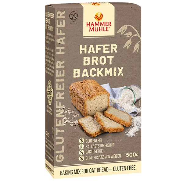 HAFER Brot Backmix