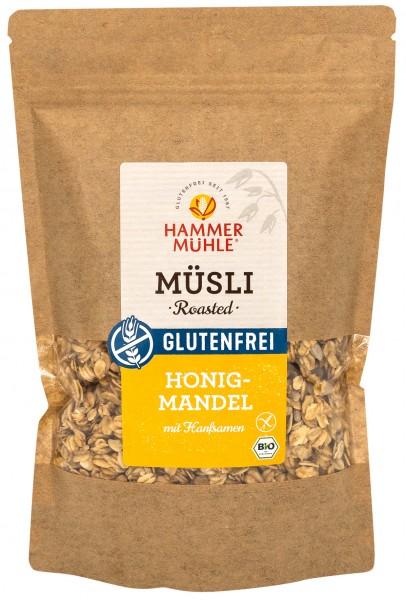 Bio Roasted Müsli Honig-Mandel