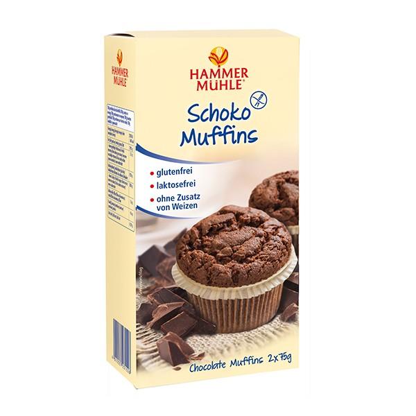 Schoko Muffins, 2 x 75 g