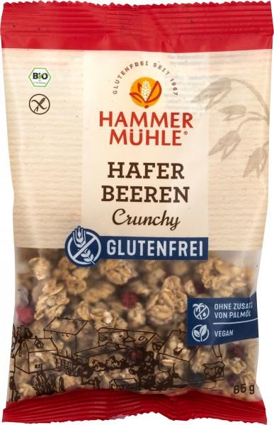 Bio Hafer Beeren Crunchy Portionsbeutel