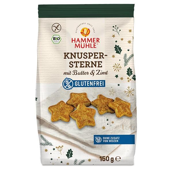 Hammermühle Bio Knuspersterne glutenfrei
