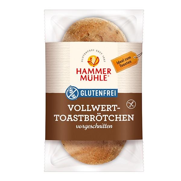 Vollwert-Toastbrötchen