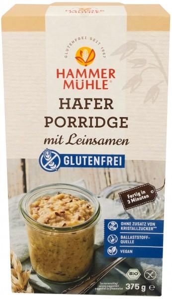 Bio Hafer-Porridge mit Leinsamen