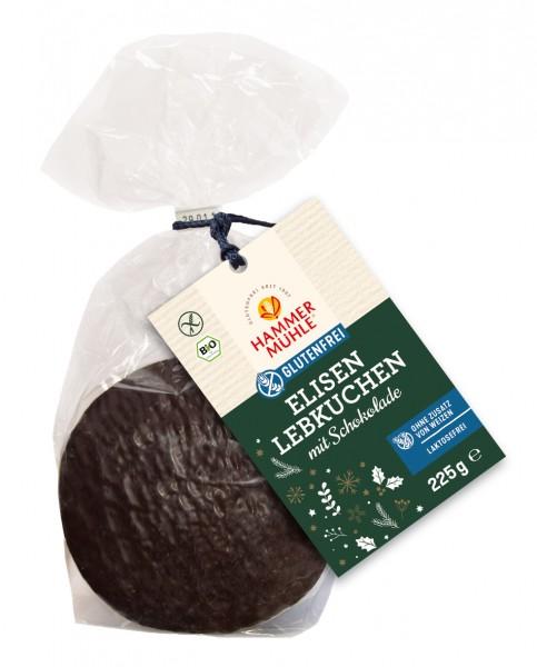 Hammermühle Bio Elisenlebkuchen mit Schokolade glutenfrei