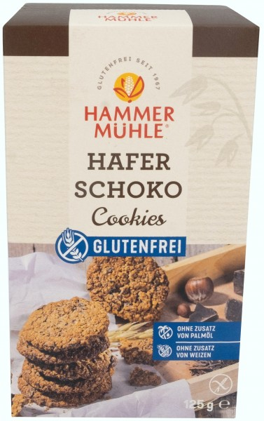HAFER Schoko Cookies